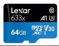 64GB Micro SD Card Lexar Fit For Samsung Galaxy Note 20 Ultra Note 20 Ultra 5G