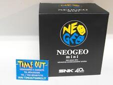 Snk Neo Geo Mini Console 40th Anniversary Japanese Version (english Japanese)