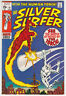 Silver Surfer #15 Very Fine Minus 7.5 The Human Torch John Buscema Art 1970