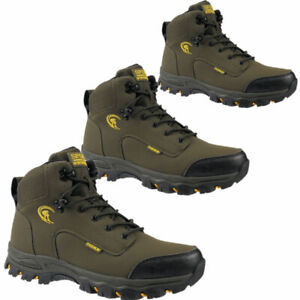 new mens  rugged hiker Lace Up Trail Walking ankle bootS trainers SHOE size 7/41
