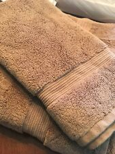 Hotel Collection Turkish Bath Sheet & Hand Towel - Mocha Color. ($90)