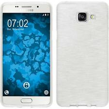 Funda de silicona Samsung Galaxy A5 (2016) A510 brushed blanco