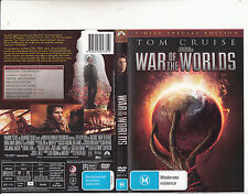 War of The Worlds-2005-Tom Cruise-[2 Disc Special Edition]-Movie-DVD