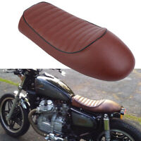 Retro Motorcycle Cafe Racer Seat Hump Vintage Saddle for Honda Suzuki Yamaha