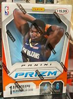 🔥 NEW 2019-20 Panini Prizm Basketball 6-Pack Sealed Blaster Box - Zion, Ja RC?