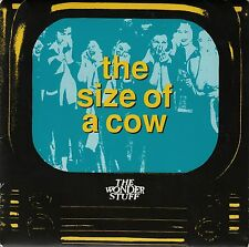 "THE WONDER STUFF-The Size Of A Cow/Radio Asskiss (Live) UK 7"" EX Cond"