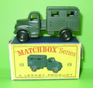 Matchbox / 68 Austin K9 Army Wireless Truck / Boxed
