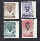 India 1948 Complete Gandhi Set OG MLH SC# 203 206 Cats $557.50 No Reserve!
