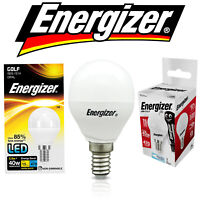 Energizer Golf Ball LED Bulb 5.9w = 40w or 5.2w =40w SES E14 Energy Saving Light