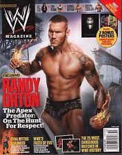 WWE magazine October 2012 Randy Orton w/Poster EX 121015DBE