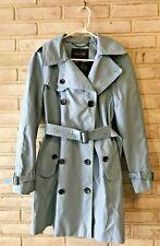Coach Trench Coat Jacket Blue Medium