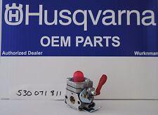 New Oem Husqvarna Poulan Pro 530071811 Zama C1u W19 Pp133 Trimmer Carburetor
