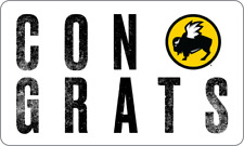 Buffalo Wild Wings Gift Card - Congrats - $25 $50 or $100 - Email delivery