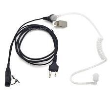 Covert Acoustic Tube Earpiece Headset PTT for Midland GXT500/550 GXT555 GXT650