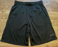 NIKE driFIT Black Lightweight Athletic crossFIT Workout Training Shorts mens M
