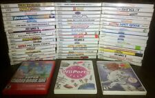 Nintendo Wii You Pick & Choose Video Game Lot-Tested- Buy 3 Get 1 Free!