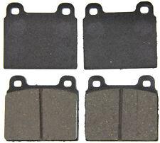 Ceramic Brake Pads -WAGNER BRAKES ZD45A- CERAMIC BRAKE PADS