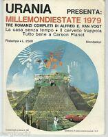 MILLEMONDIESTATE 1979-ALFRED VAN VOGT- 3 ROMANZI - OTTIMO