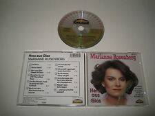 MARIANNE ROSENBERG/HERZ EN VERRE(KARUSSELL/846 507-2)CD ALBUM
