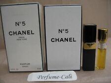 CHANEL No.5 PARFUM 1/5 FL oz - 6 ML Parfum Refillable Spray Sealed Box
