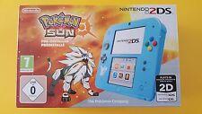 NINTENDO 2 DS POKEMON SOLEIL édition spéciale + Pokémon Sun pré-installé NEUVE!!