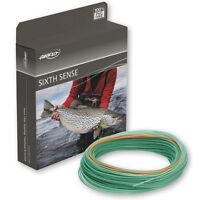 "Airflo NEW 6th Sense Power Core Fast Glass Trans Green Fly Fishing Line S/R 1.5"""