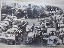 1930 'S JUNK YARD FORD CHEVROLET BUICK  AN MORE   11 X 17  PHOTO /  PICTURE