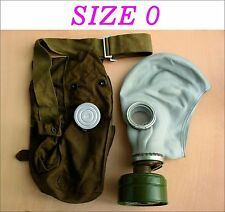 Military soviet russian gas mask GP-5. SIZE-0. FULL SET. Grey