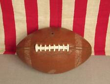 Vintage MacGregor Leather Official NFL Football with Laces Model F704 Nice Ball