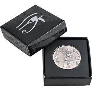 2016 2 oz Republic of Chad Egyptian Relic Series Horus Silver Coin .999 AG
