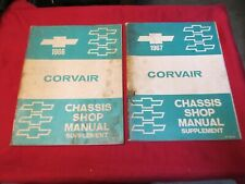 1966 1967 Chevrolet Corvair Shop Manuals 2 Books one for each year