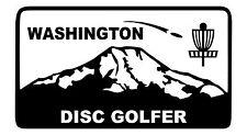 Disc Golf Vinyl Sticker Decal Washington Dg