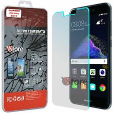 "2 Pellicola in Vetro Temperato per Huawei P8 Lite 2017 Salva Display LCD 5,2"""