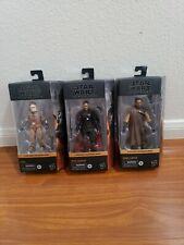 "Star Wars 6"" Black Series Moff Gideon, Greef Karga, Kuiil 3lot!!!"