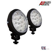 2x White 12V 1 LED DRL Round Daytime Running Light Car Tail Fog Day Driving Lamp