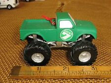 Cannon Falls Resin Green Monster Truck Lucky 7 Ornament Nwt