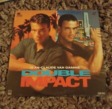 Double Impact - Laserdisc - Jean-Claude Van Damme - Brand New Sealed!