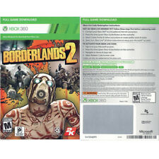 Borderlands 2 Full Game Download Code Card Microsoft Xbox 360 Live