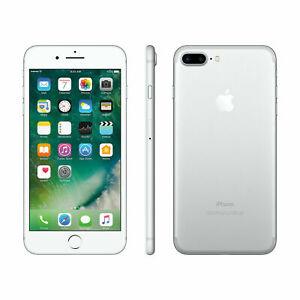 Apple iPhone 7 Plus 256GB Fully Unlocked (GSM+CDMA) AT&T T-Mobile Verizon Silver