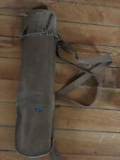 Made in Pakistan Chesnut Brown Suede Leather Quiver Arrow Holder – 20.25 inches