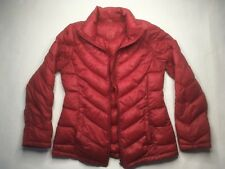 Calvin Klein Packable Down Puffer Jacket Women's Red Small Winter Jacket