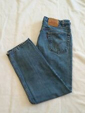 Mens Levis 550 Vintage Jeans 36 x 30 USA Made Relaxed Fit O12
