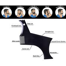 Men's Fashion Beard Molding Template Comb Pro Barber Tool Symmetry Trimming