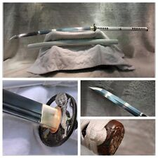 JAPANESE NINJA SHRINE SECT TANG SAMURAI SWORD KATANA FOLDED STEEL BLADE #2743