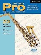 Santorella Learn From A Pro Alto Sax Method Book w/ Cd