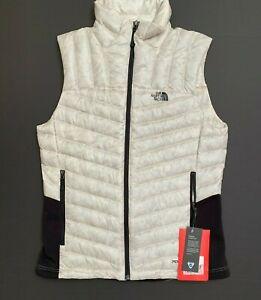 North Face Women's Medium Tonnerro Hybrid 700 Pro Down Vest in Gardenia White