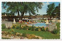 PARK LANE MOTEL, Lundy's Lane, Niagara Falls, Canada 1960s Roadside Postcard