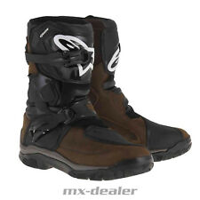Alpinestars Belize Drystar Touring Adventure Enduro Stiefel oiled braun