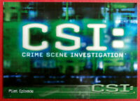 CSI - SEASON ONE - COMPLETE BASE SET (100 cards) - Strictly Ink