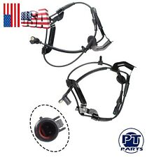 ABS Speed Sensor & Harness For Ford Escape Mariner Front Left & Right Pair Set